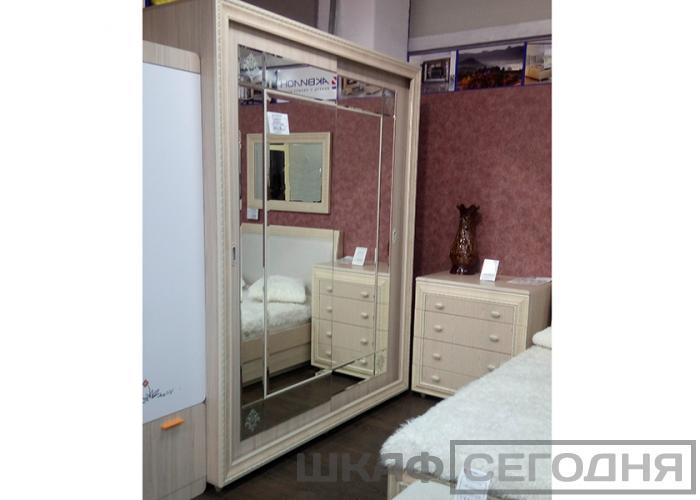 Кровать 2-х спальная Аквилон Калипсо 16ПМ