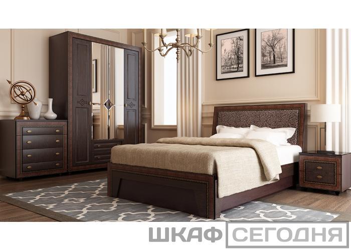 Кровать с мягким элементом Аквилон Калипсо 140М