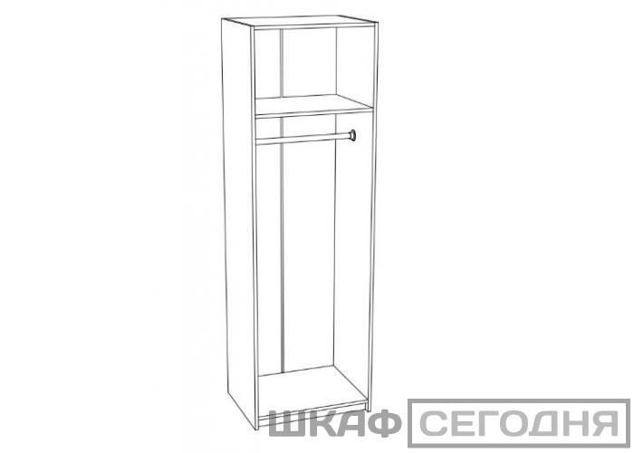 Шкаф со скалкой Стендмебель Мальта ШК 711