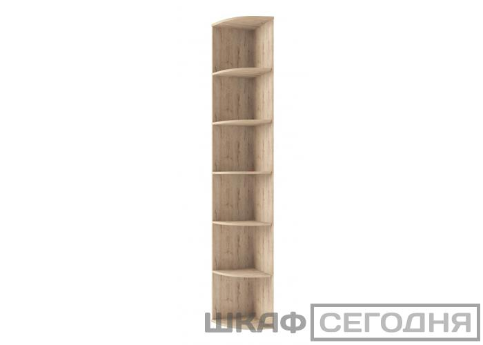 Шкаф открытый угловой Анрэкс OSKAR