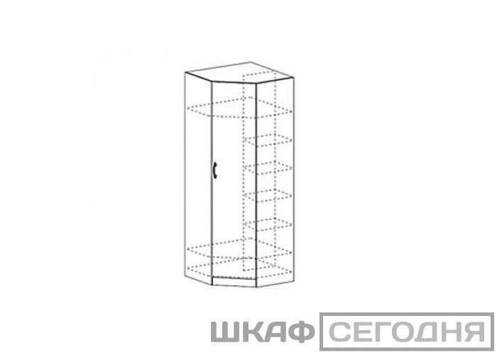 Шкаф угловой Стендмебель Макарена ШК 313