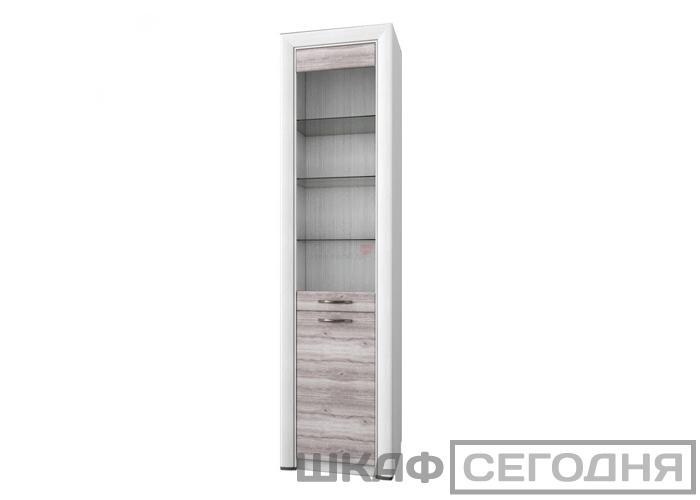 Шкаф-витрина Анрэкс OLIVIA 1V1D