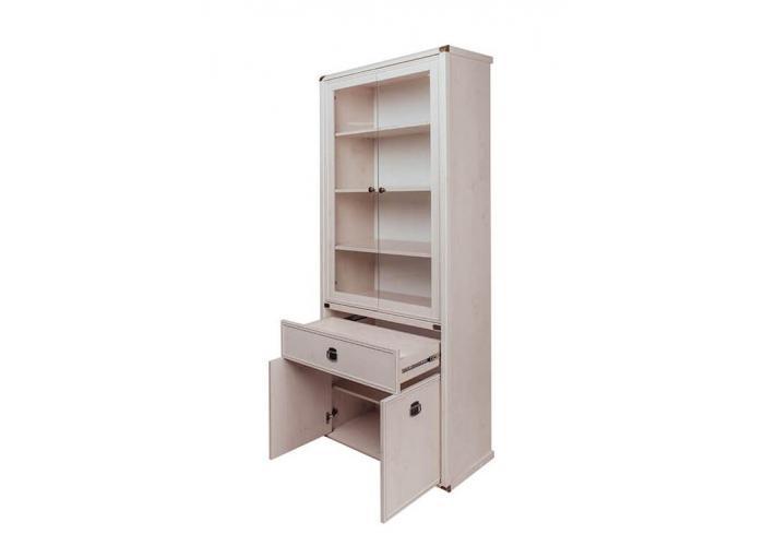 Шкаф с витриной Анрэкс MAGELLAN 2V2D1S
