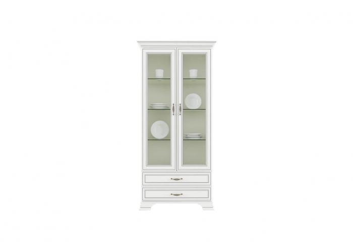 Шкаф с витриной Анрэкс TIFFANY 2V2S