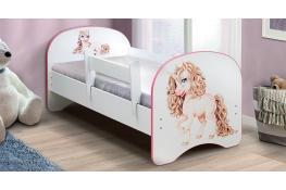 Детская кровать с фотопечатью Единорог