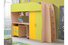 Кровать детская с ящиками Матрица Юниор-3.1