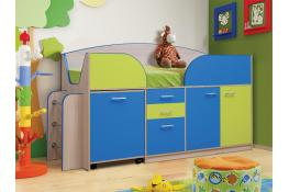 Кровать детская с ящиками Матрица Юниор-4.1