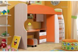 Кровать детская с ящиками Матрица Юниор-5