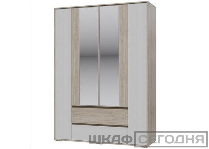 Шкаф 4-х дверный с ящиками Гранд Кволити Мальта