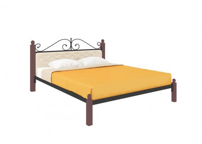 Кровать МилСон Диана Lux (мягкая) 120