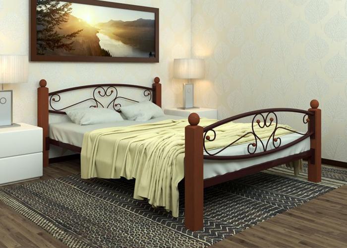Кровать МилСон Каролина LuxPlus 120