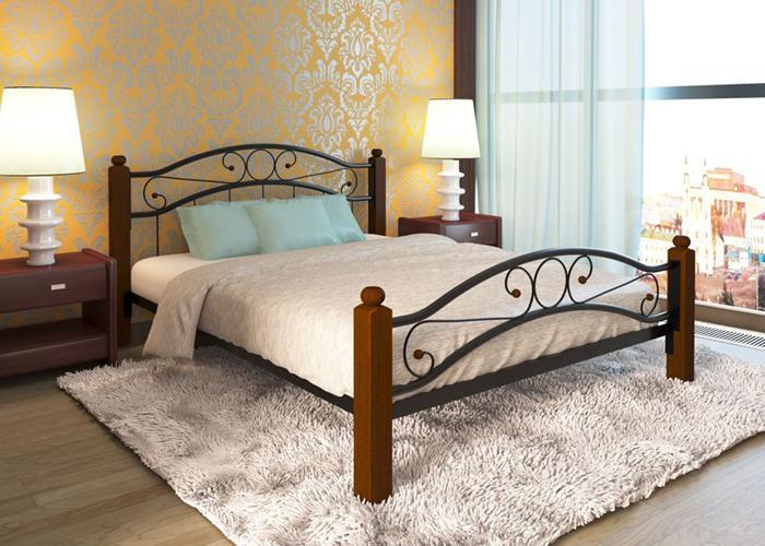 Кровать МилСон Надежда LuxPlus 120