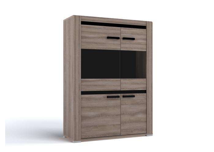 Шкаф низкий СБК Бруна