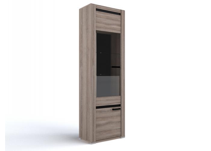Шкаф со стеклом СБК Бруна