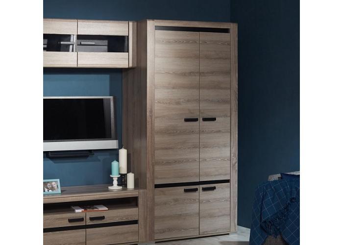 Шкаф для одежды СБК Бруна