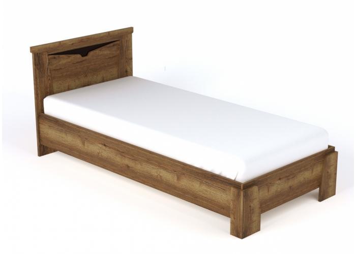 Кровать односпальная СБК Гарда ДГТ