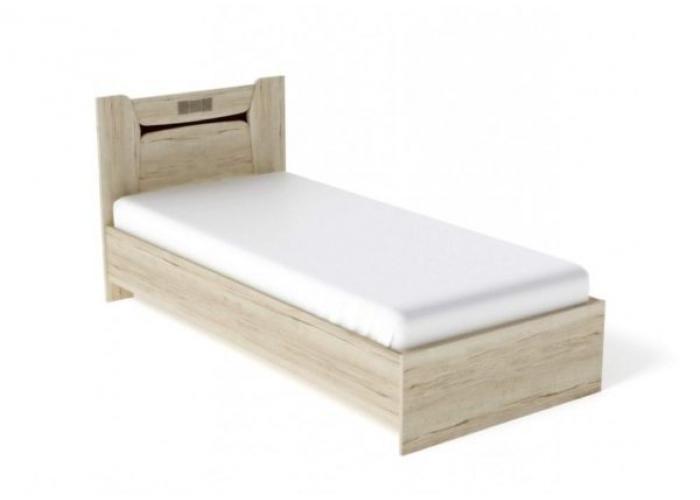 Кровать односпальная СБК Мале