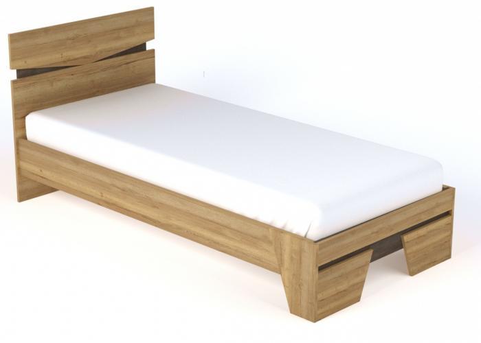 Кровать односпальная СБК New Стреза