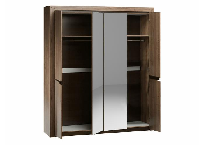 Шкаф 4-х дверный СБК Гарда ДГТ