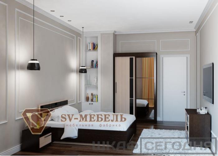 Шкаф-купе SV-Мебель №11 2-х ств.