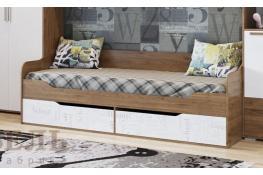Кровать-диван с ящиками (0,9*2,0) SV-Мебель Гарвард