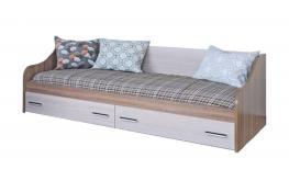 Кровать одинарная с ящиком SV-Мебель Город