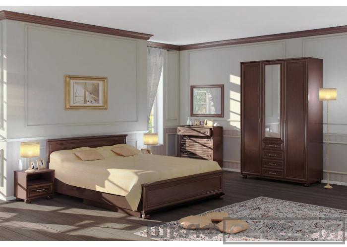 Верди СБ-1463/1 Кровать/подъём мех Махагон