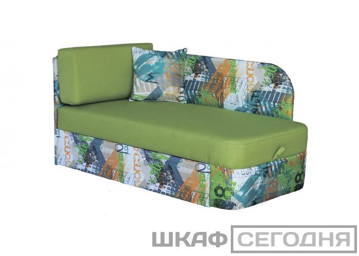 Детский диван Дивановв Квест Экшн зеленый