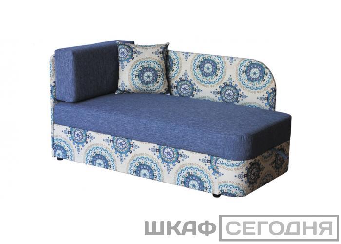 Детский диван Дивановв Квест Рогожка синяя