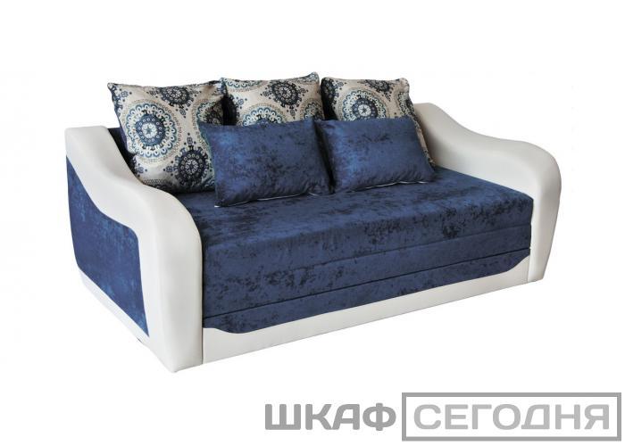 Диван Дивановв Тревел синий 160
