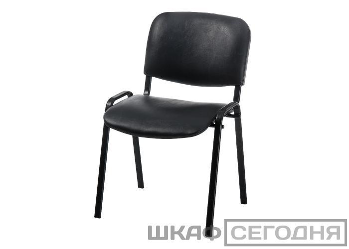 Стул ФАБРИКАНТ Изо Черный кожзам PV