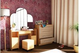 Трюмо Комфортная мебель Т2