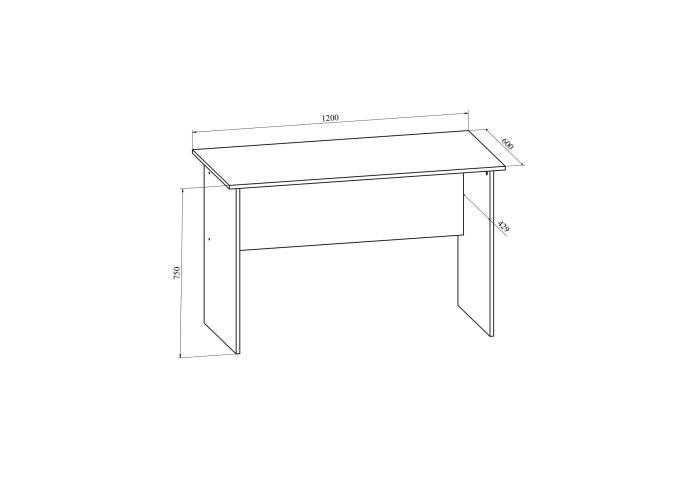 Стол письменный Compass Офис ОФ-112К