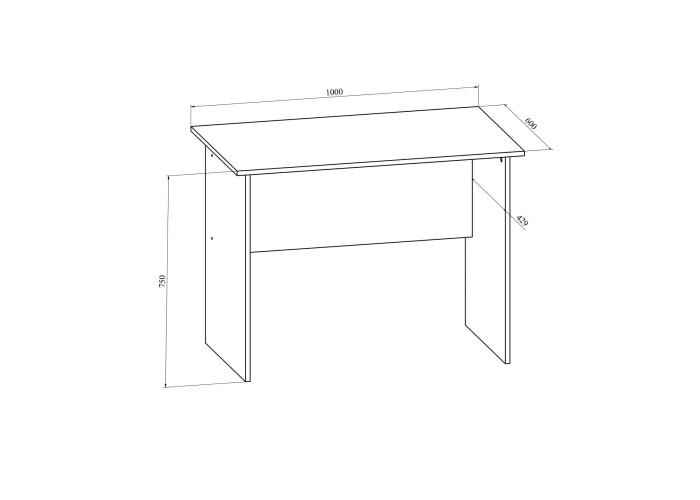 Стол письменный Compass Офис ОФ-111К