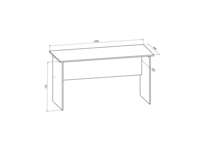 Стол письменный Compass Офис ОФ-113К