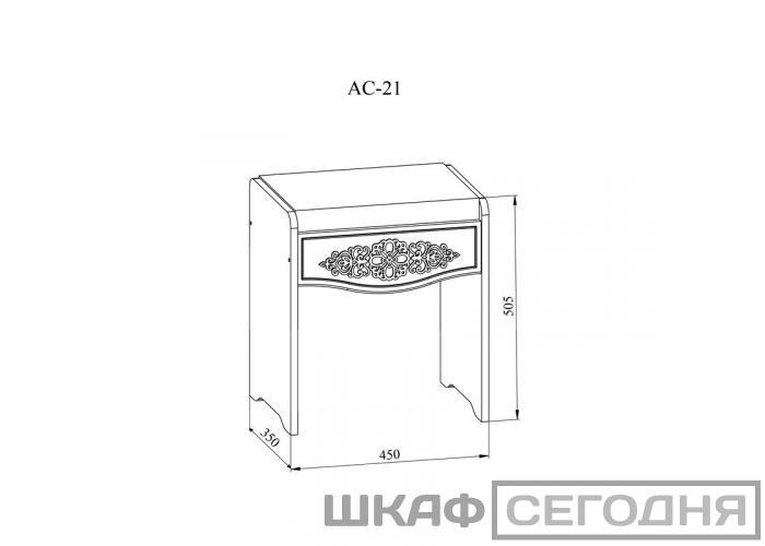 Банкетка Compass Ассоль АС-21