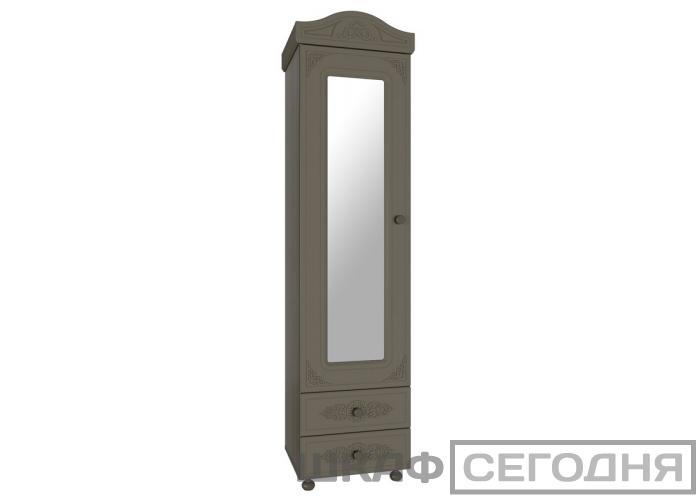 Шкаф-пенал с зеркалом Compass Ассоль Плюс АС-1