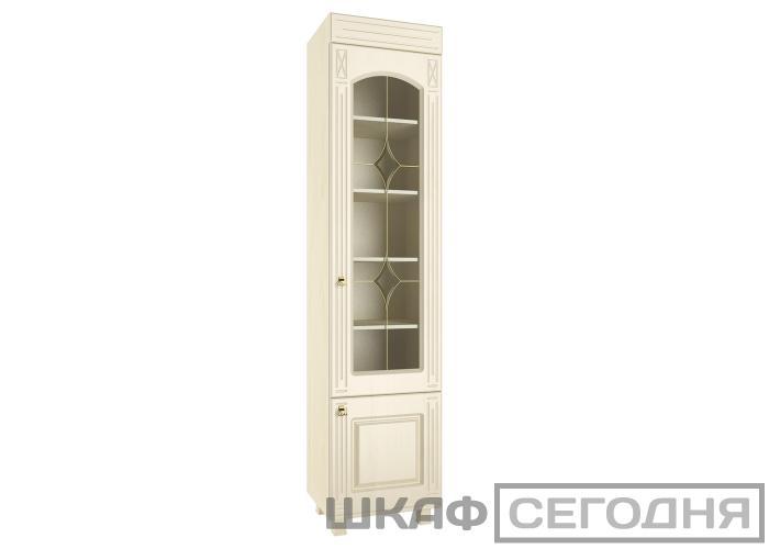 Шкаф-витрина со стеклом Compass Элизабет ЭМ-4
