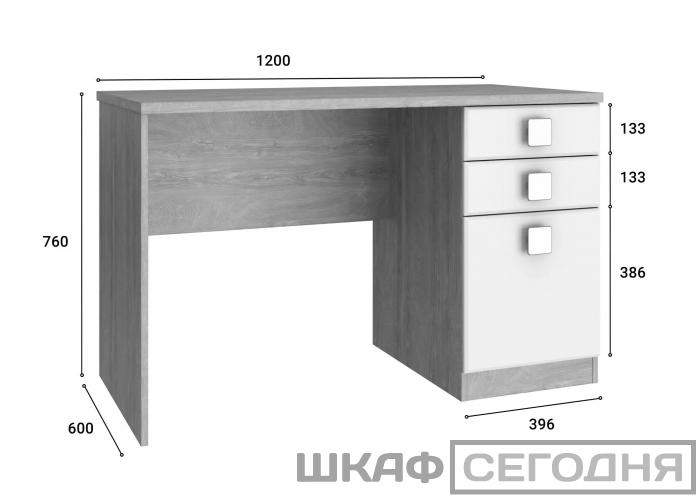Стол письменный Compass Анастасия АН-16К