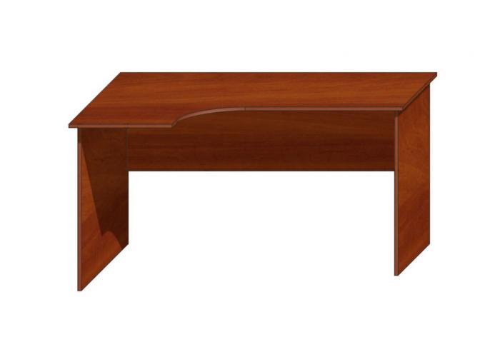 Офисный стол ЛОББИ Стандарт СМ-104 левый