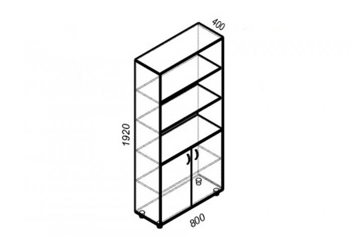 Шкаф ЛОББИ Стандарт СМ-302
