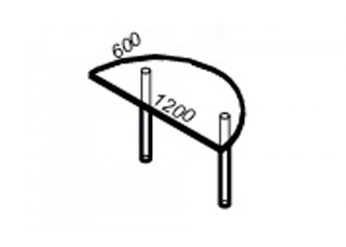 Офисный стол ЛОББИ Стандарт СМ-402