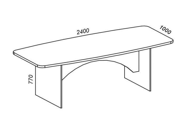 Конференц стол ЛОББИ Верона КД-104