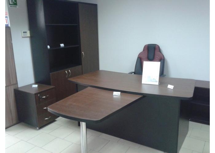 Шкаф под документы ЛОББИ Верона КД-303 с стеклянными фасадами