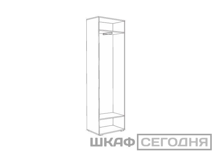 Шкаф для одежды Моби Глория 102