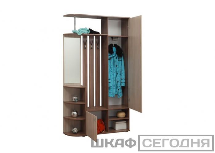 Прихожая ОЛМЕКО Кармен - 7 Шкаф комбинированный