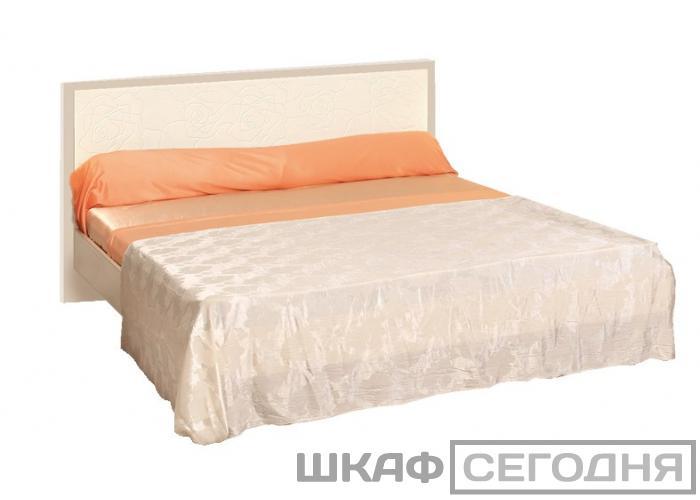 Кровать ОЛМЕКО Розалия с ортопедическим основанием 160 06.15.-03