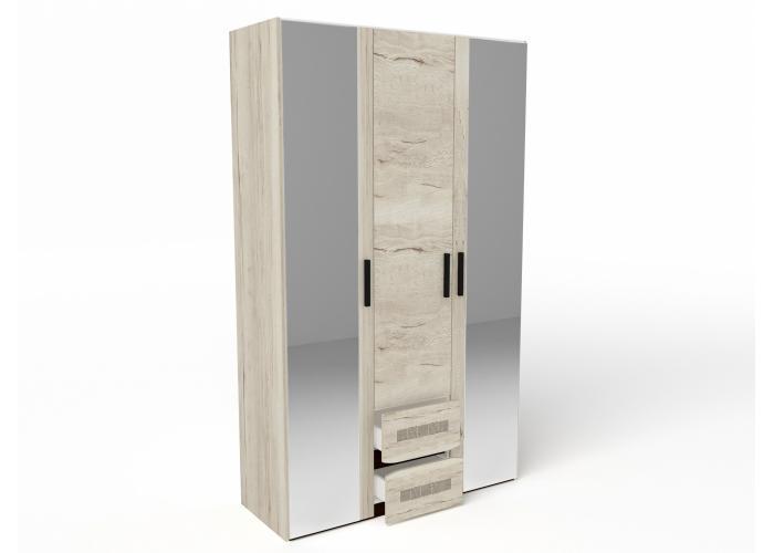 Шкаф 3-х дверный СБК Мале