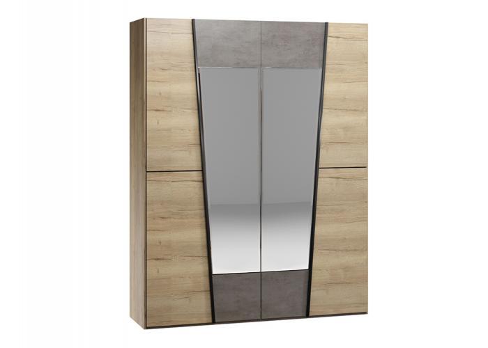 Шкаф 4-х дверный СБК Стреза