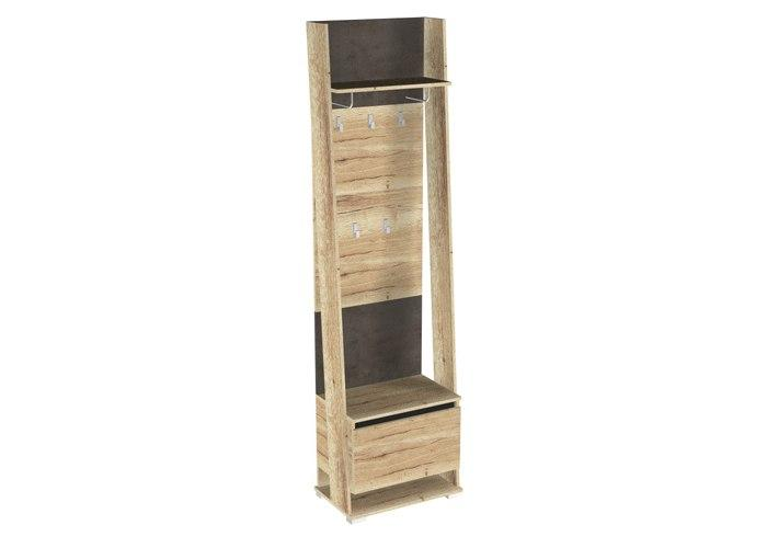 Шкаф открытый с вешалкой СБК Стреза ПС-2